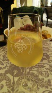 Dresdenで飲む白ワイン